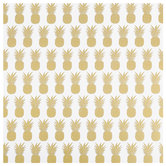"Pineapple Foil Scrapbook Paper - 12"" x 12"""