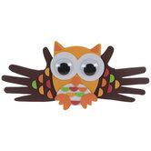Handprint Owl Foam Craft Kit