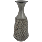 Honeycomb Metal Vase