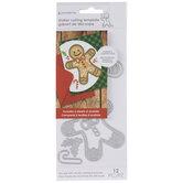 Gingerbread Man Shaker Dies