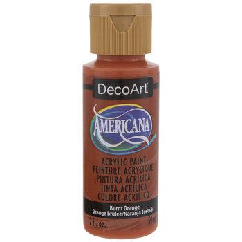 Burnt Orange Americana Acrylic Paint