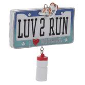 Luv 2 Run Ornament