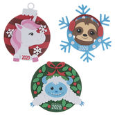 2020 Christmas Characters Foam Craft Kit