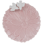 Pink Flower & Birds Jewelry Dish