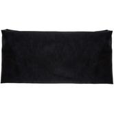 Black Wide Elastic Knit Headband