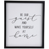 Be Our Guest Wood Wall Decor