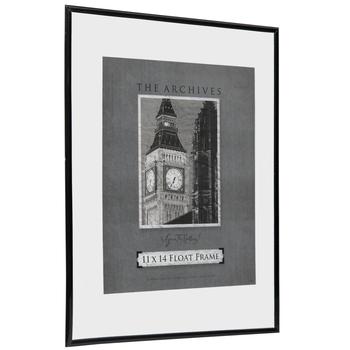 Black Float Wall Frame