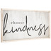 Choose Kindness Wood Wall Decor