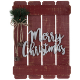 Merry Christmas Wood Pallet Wall Decor