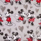 Mickey & Minnie Anti-Pill Fleece Fabric
