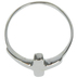 Sterling Silver Cross Ring - Size 8