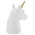 White Unicorn Head