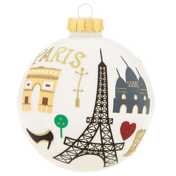 Paris Ball Ornament