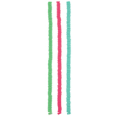 Pink, Teal & Green Clay Disc Bead Strands