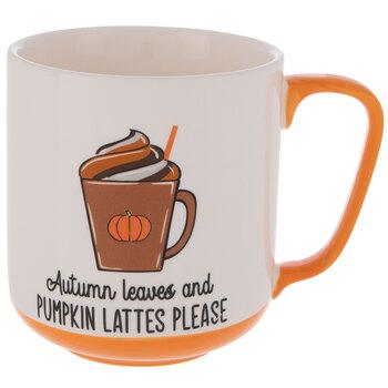 Autumn Leaves & Pumpkin Lattes Please Mug