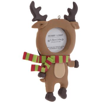 Reindeer Frame Ornament