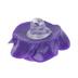 Blue, Green & Purple Rose Shank Buttons