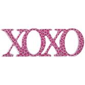 Pink Leopard Print XOXO Decor