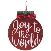 Joy To The World Wreath Embellishment