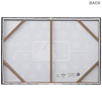 MLB Team Logos Canvas Wall Decor