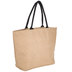 Natural Laminated Jute Bag With Zipper