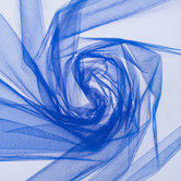 Royal Blue Nylon Tulle Fabric