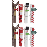 Holiday Character Gift Tag Clips