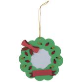 Wreath Frame Ornament Foam Craft Kit