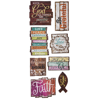 Pallet Inspirational Word Art Stickers