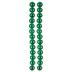 Green Marbleized Glass Bead Strands