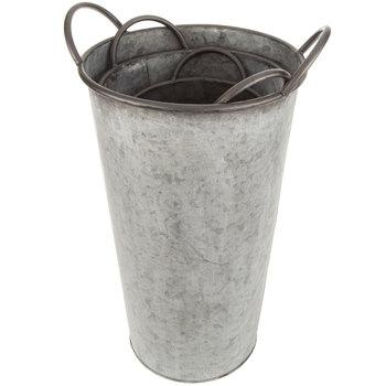 Galvanized Metal Pot Set