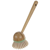 Green Bamboo Brush With Handle