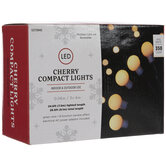 Warm White LED Cherry Compact Lights