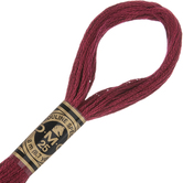 498 Dark Red DMC Cotton Embroidery Floss