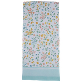 Blue, Pink & Yellow Floral Kitchen Towel