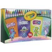 Crayola Special Effects Crayons - 96 Piece Set