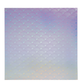 "Holographic Foil Scales Scrapbook Paper - 12"" x 12"""