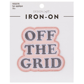 Off The Grid Iron-On Applique