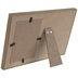 White & Brown Wood Frame - 4