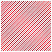 "Candy Cane Striped Foil Scrapbook Paper - 12"" x 12"""