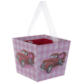 Red Truck & Pink Gingham Box