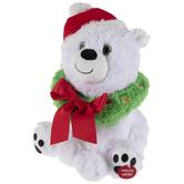 Singing & Dancing Plush Snowy Pawz Bear