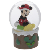 Mickey Mouse Snow Globe