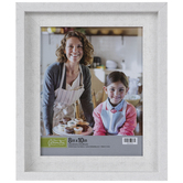 Rustic White Stepped Wall Frame