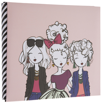 "Elle Oh Elle Scrapbook Album Kit - 8"" x 8"""