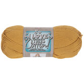 Gold I Love This Cotton Yarn