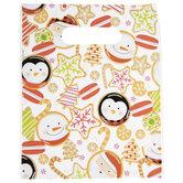 Christmas Cookie Zipper Bags