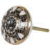 Gold & Gray Marble Knob