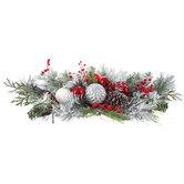 Pine, Berry & Ornament Centerpiece