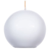 White Sphere Candle Value Pack - 3""